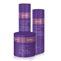 Estel, Набор для волос Cеребристый для холодных оттенков блонд ESTEL PRIMA BLONDE