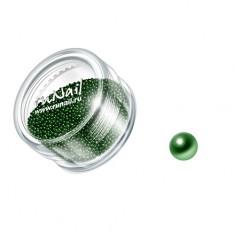 ruNail, дизайн для ногтей: бульонки 0323 (зеленый)