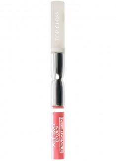 Помада-блеск для губ жидкая Нежный розовый SEVENTEEN