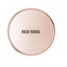 пудра санскрин the saem eco soul uv sun pact
