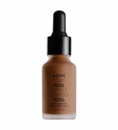 NYX PROFESSIONAL MAKEUP Тональная основа Total Control Drop Foundation - Cocoa 21