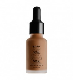 NYX PROFESSIONAL MAKEUP Тональная основа Total Control Drop Foundation - Mocha 19