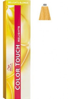 WELLA PROFESSIONALS /03 краска для волос, французская ваниль / Color Touch Relights 60 мл