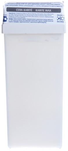 BEAUTY IMAGE Кассета с воском для тела, белый / ROLL-ON 110 мл