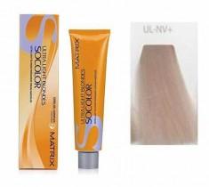 MATRIX UL-NV+ краска для волос, натуральный перламутровый+ / СОКОЛОР БЬЮТИ ULTRA BLONDE 90 мл