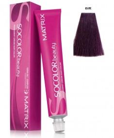 MATRIX 6VR краска для волос, темный блондин перламутрово-красный / СОКОЛОР БЬЮТИ 90 мл