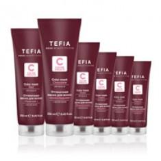 TEFIA Маска оттеночная для волос, медная / Color Creats 250 мл