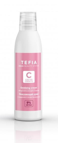 TEFIA Крем окисляющий 9% (vol. 30) / Color Creats 120 мл
