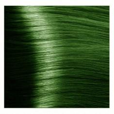 KAPOUS 073 крем-краска для волос, усилитель зеленый / Hyaluronic acid 100 мл