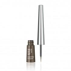 MAKE UP FACTORY Подводка жидкая для глаз, 04 коричневый / Liquid Eye Designer