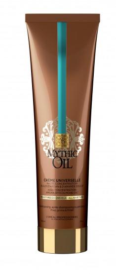L'OREAL PROFESSIONNEL Крем универсальный 3 в 1 для всех типов волос / МИТИК ОЙЛ 150 мл LOREAL PROFESSIONNEL