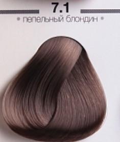 ESTEL PROFESSIONAL 7/1 краска для волос, средне-русый пепельный (графит) / ESSEX Princess 60 мл