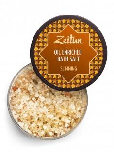 Моделирующая ароматическая соль для ванн для похудения с корицей, бергамотом и грейпфрутом