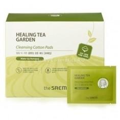 The Saem Healing Tea Garden Cleansing Cotton Pads