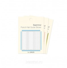 The Saem French Nail Guide Sticker