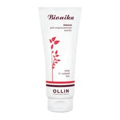 Оллин/Ollin Professional BioNika Маска для окрашенных волос Яркость цвета 200мл