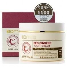 BIOmax крем для молодости кожи с экстрактом красного женьшеня 100мл