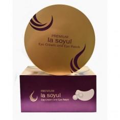 патчи и крем для кожи вокруг глаз la soyul la soyul premium eye cream and eye patch LA MISO