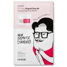 комплекс для очищения и увлажнения кожи cosrx one step moisture up kit