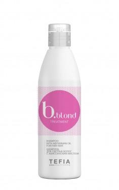 TEFIA Шампунь для светлых волос с абиссинским маслом / Bblond Treatment 250 мл