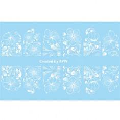 BPW.Style, Слайдер-дизайн «Белые цветы» №2-47