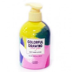 лосьон для рук etude house  colorful drawing soft hand lotion
