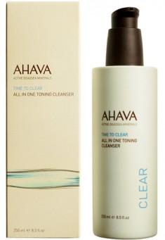 AHAVA Средство очищающее тонизирующее все в одном / Time To Clear 250 мл