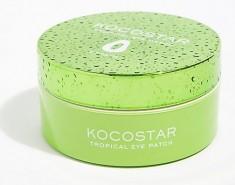KOCOSTAR Патчи гидрогелевые для глаз Тропические фрукты, папайя / Tropical Eye Patch Papaya Jar 60 патчей