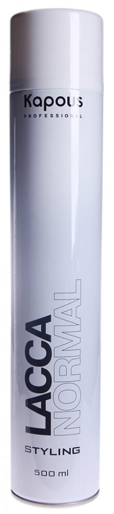 KAPOUS Лак аэрозольный нормальной фиксации для волос 500 мл