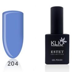 Klio Professional, Гель-лак Estet Collection №204