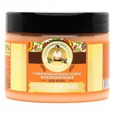 Рецепты Бабушки Агафьи Маска для волос облепиховая интенсивное питание и восстановление 300мл