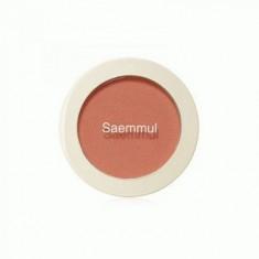 Румяна THE SAEM Saemmul Single Blusher OR01 Mandarine Kiss 5гр