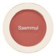 Румяна THE SAEM Saemmul Single Blusher RD03 Trench Rose 5гр
