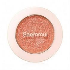 Тени для век с глиттером THE SAEM Saemmul Single Shadow Glitter OR03 1,6гр