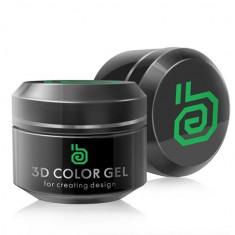 3d гель (зеленый, green), 5 г ru ruNail