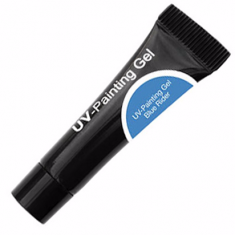 Cnd uv-painting gel blue rider 5мл tube (уф гель-краска)