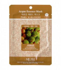 Маска тканевая аргана Mijin Argana Essence Mask 23гр