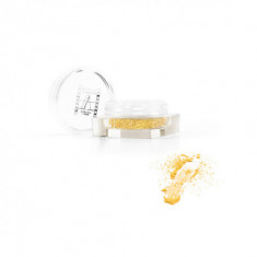 Рассыпчатые перламутровые тени Make-Up Atelier Paris PP17 желто-золотая