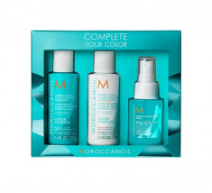 MOROCCANOIL Набор Complete your color (шампунь 70 мл, кондиционер 70 мл, спрей для волос 50 мл)