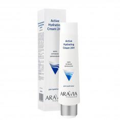 ARAVIA Крем для лица активное увлажнение / Active Hydrating Cream 24H 100 мл