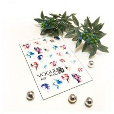 Vogue Nails, Слайдер-дизайн №39