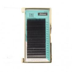 TNL, Ресницы на ленте силиконовые 0,07 мм, D-изгиб (№ 6-13) TNL Professional