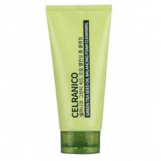 балансирующая пенка с семенами зеленого чая celranico green tea seed oil balancing foam cleansing