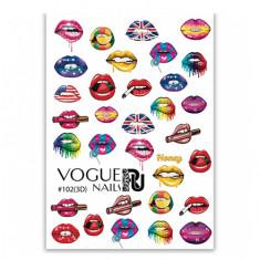 Vogue Nails, 3D-слайдер №102