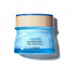 крем для лица увлажняющий the saem iceland aqua moist cream