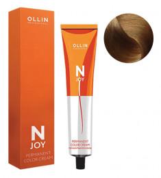 OLLIN PROFESSIONAL 9/32 крем-краска перманентная для волос, блондин золотисто-фиолетовый / N-JOY 100 мл