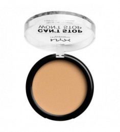 NYX PROFESSIONAL MAKEUP Тональная основа-пудра Can't Stop Won't Stop Powder Foundation - True Beige 10,3
