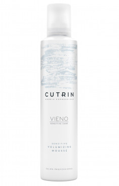 CUTRIN Мусс для объема легкой фиксации без отдушки / VIENO Sensitive Volumizing Mousse Light 300 мл