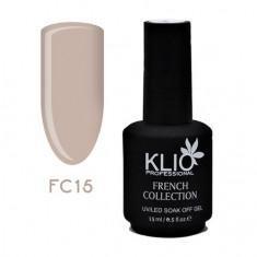 Klio Professional, Гель-лак French Collection №15