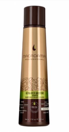 Шампунь увлажняющий для жестких волос Macadamia Ultra rich moisture shampoo 300мл
